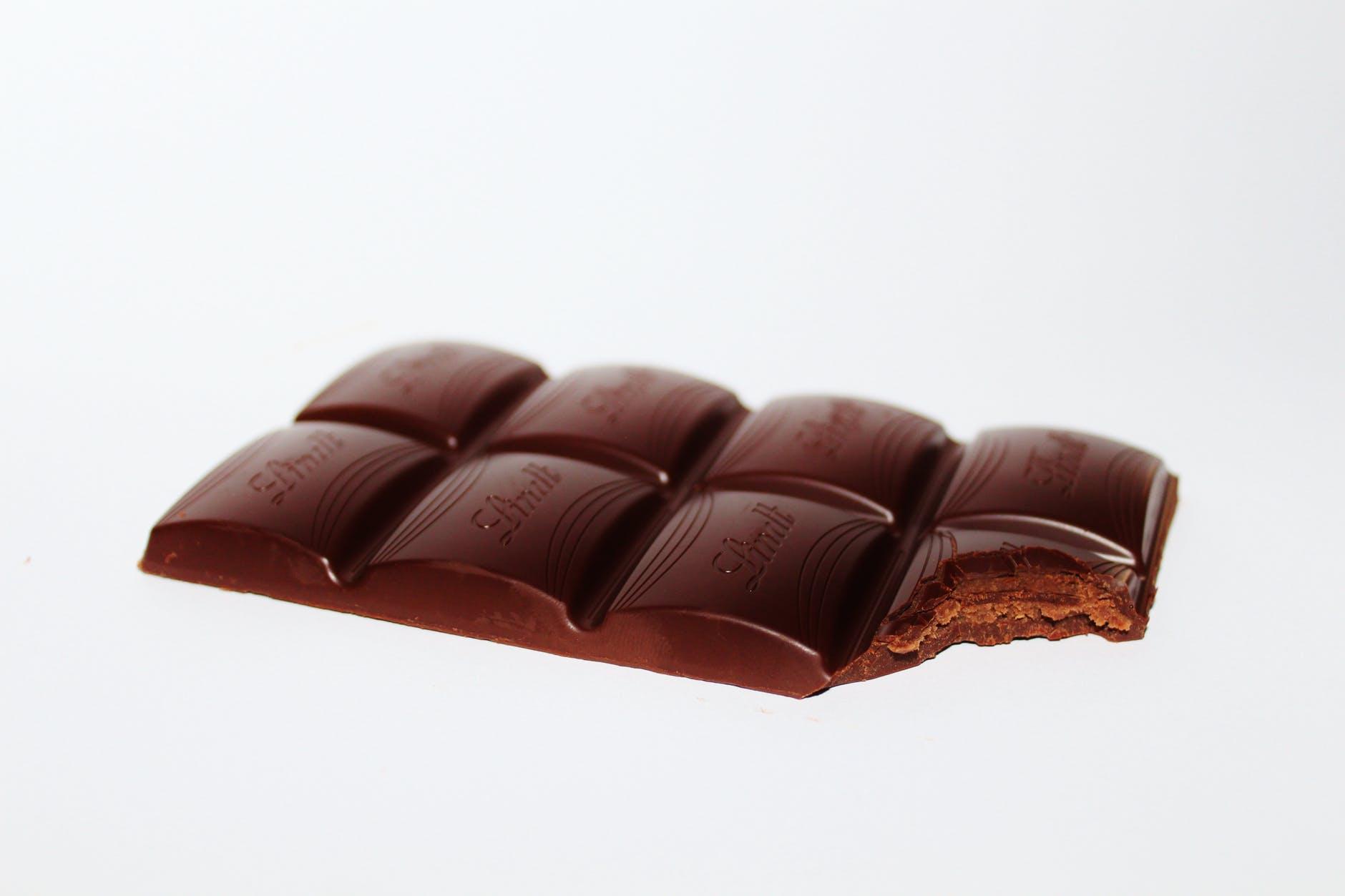 Delicious Swiss milk chocolate